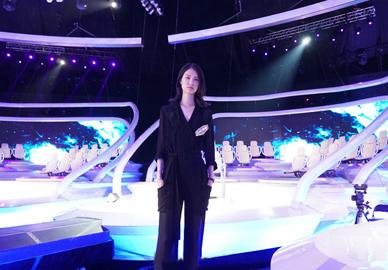 超模陈曦参加益智攻擂节目《一战到底》