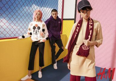 魏小涵出镜2017 H&M Fall Asia Keys新潮力系列广告