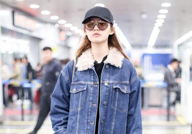 最火热的外套原来是它?奚梦瑶、倪妮反复穿的羊羔绒牛仔衣,绝对是寒冷冬季的必备之选!
